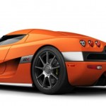 2010 Koenigsegg CCX orange color