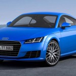 2015 Audi TT Coupe Redesign blue black color