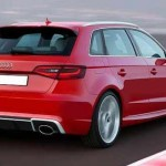New 2016 Audi RS3 Sportback exterior design