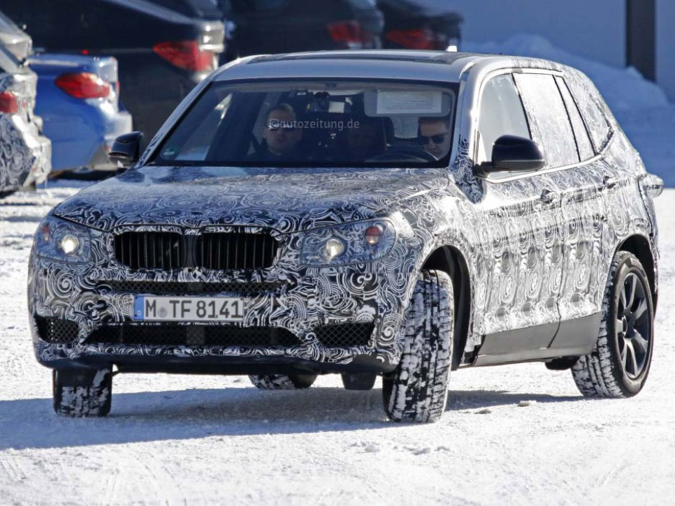 Next Generation 2017 BMW X3 Changes and Release Date
