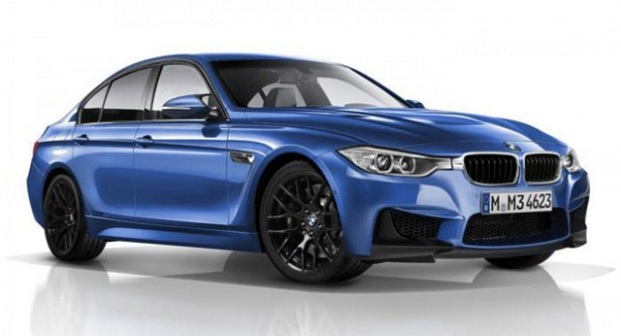 2015 BMW 3 Series Exteriror Blue Color Side View