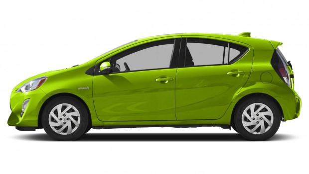 2015 Toyota Prius Green Car HD awesome car picture