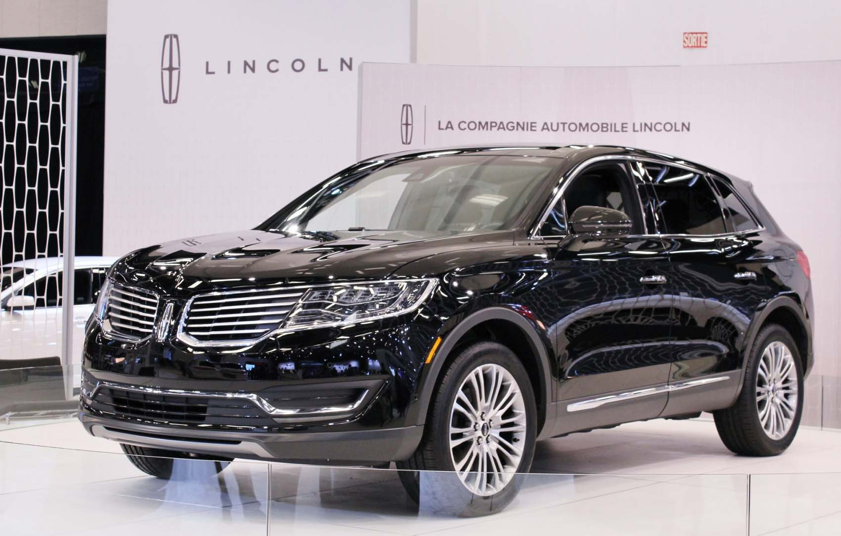 The New 2016 Lincoln MKX exterior black color hd wallpaper