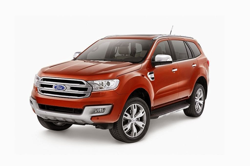 2015 Ford Everest Review and Price