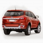 2015 Ford Everest rear view exterior