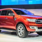 2015 Ford Everest red color suv