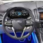 2016 Ford Edge interior with steer