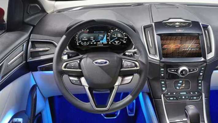 Ford Edge Interior With Steer