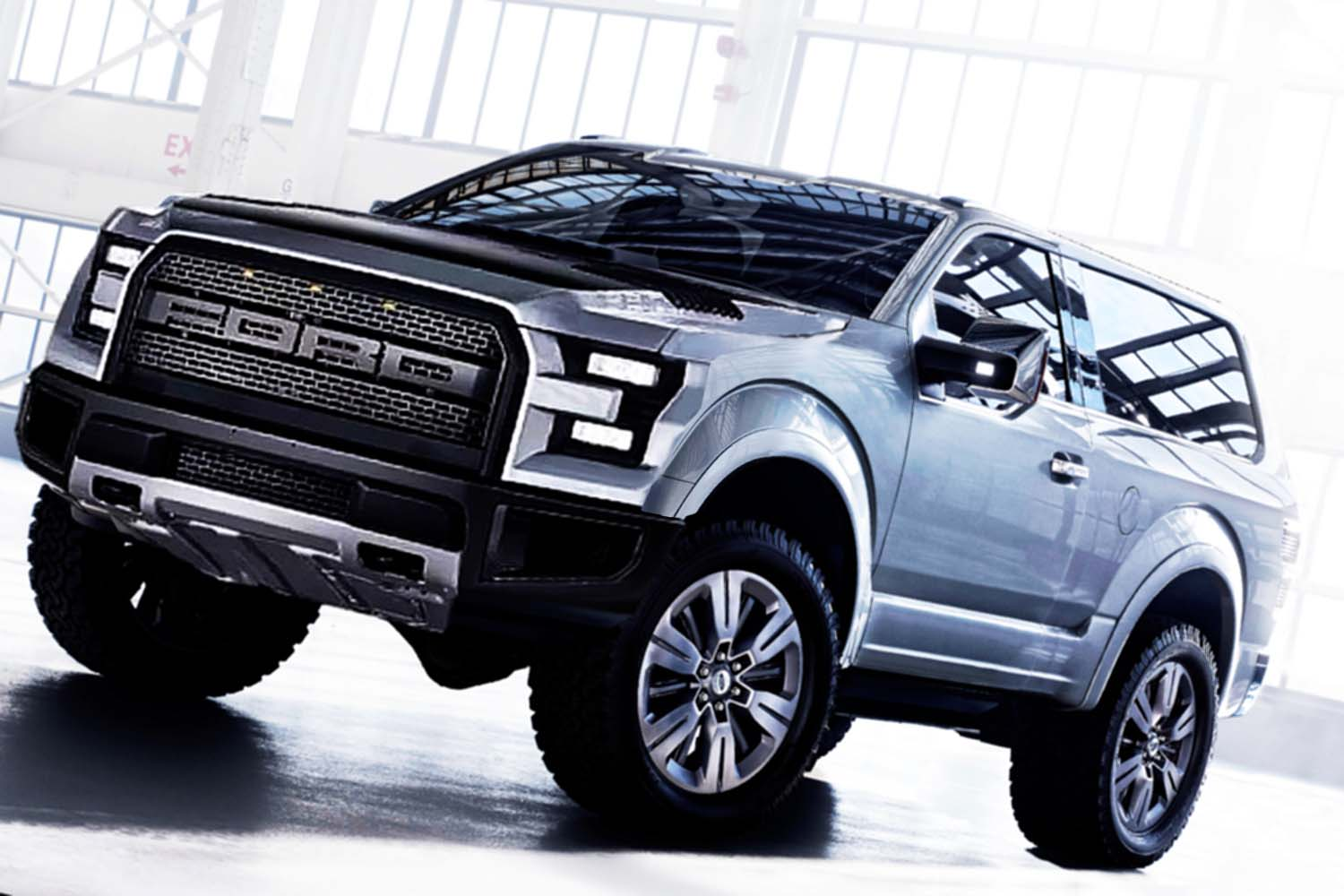 2017 Ford Bronco Raptor Exterior Concept The Styling