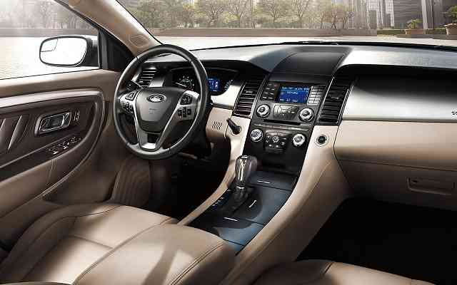 2017 Ford Taurus Redesign And Release Date Larger Sedans
