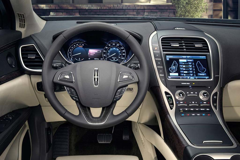 2017 Lincoln MKX interior concept from 2016 Lincoln MKX