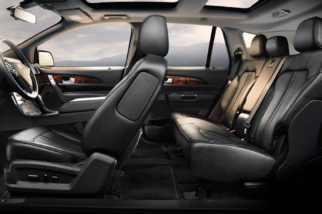 2017 Lincoln MKX passangger area concept from 2016 Lincoln MKX