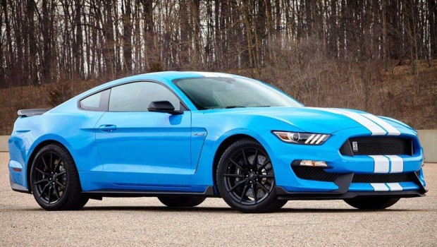 Ford Mustang Shelby GT350 sport car exterior side view review hd pic