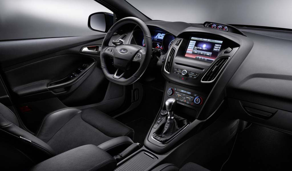 2017 Ford Focus Rs Interior With Steer Dashboard
