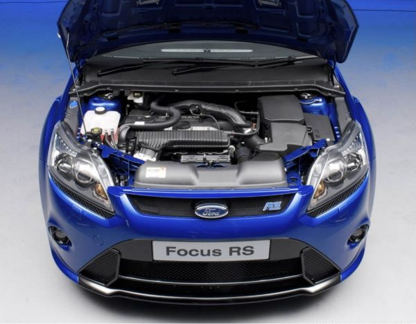 ilustration for Ford focus rs 2017 engine picture