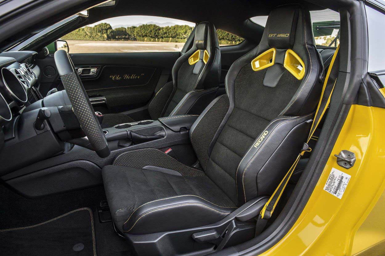 2016 ford mustang shelby gt350 ole yeller interior steer engine