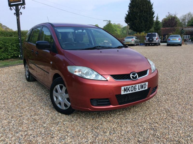 Mazda 5 1.8 TS 7 Seater specifications